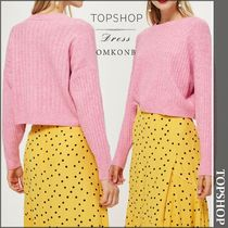 【国内発送・関税込】TOPSHOP★PETITE Striped Cropped Jumper