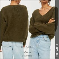 【国内発送・関税込】TOPSHOP★Super Soft V-Neck Jumper