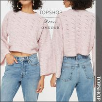 【国内発送・関税込】TOPSHOP★Stitch Detail Cropped Jumper