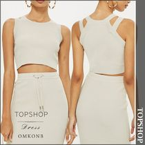 【国内発送・関税込】TOPSHOP★Strap Detail Crop Top