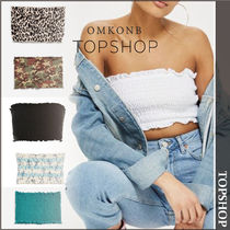 【国内発送・関税込】TOPSHOP★Shirred Boobtube Top