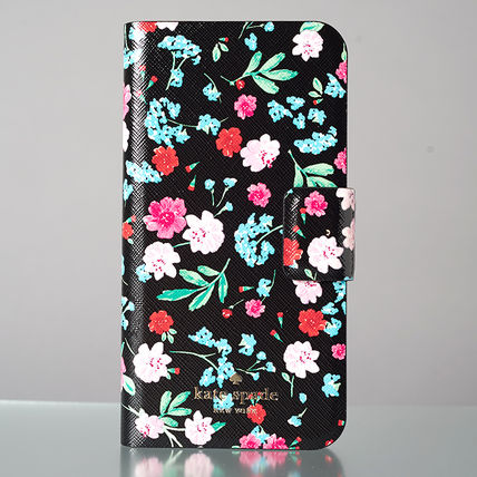 kate spade new york スマホケース・テックアクセサリー 【日本発送】kate spade  green house folio iphone X case(2)