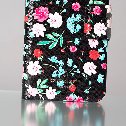 kate spade new york スマホケース・テックアクセサリー 【日本発送】kate spade  green house folio iphone X case(5)