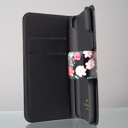 kate spade new york スマホケース・テックアクセサリー 【日本発送】kate spade  green house folio iphone X case(8)
