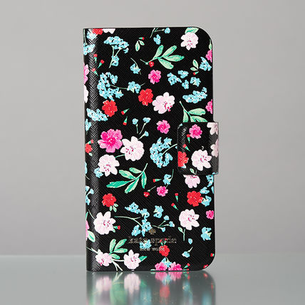kate spade new york スマホケース・テックアクセサリー 【日本発送】kate spade  green house folio iphone X case