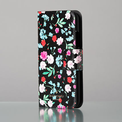 kate spade new york スマホケース・テックアクセサリー 【日本発送】kate spade  green house folio iphone X case(3)