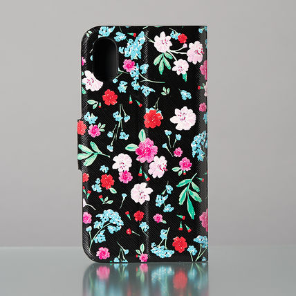 kate spade new york スマホケース・テックアクセサリー 【日本発送】kate spade  green house folio iphone X case(4)