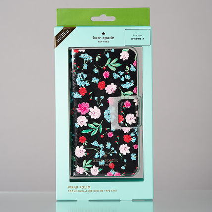 kate spade new york スマホケース・テックアクセサリー 【日本発送】kate spade  green house folio iphone X case(9)