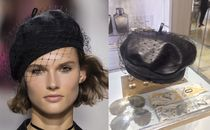NEW◆DIOR LEATHER BERET◆