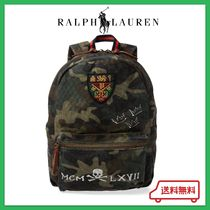 18-19秋冬新作 RALPH LAUREN バックパック Camo Cotton Backpack