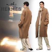 HERMES(エルメス) Manteau finition maille カシミヤ コート