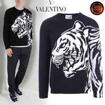 ∮VALENTINO∮ Tiger Re-Editionウール&カシミアpullover 関送込