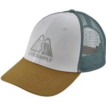 Patagonia - Live Simply Winding LoPro Trucker Hat - Timber