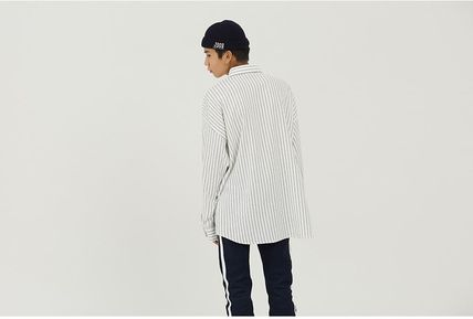 ROMANTIC CROWN シャツ 日本未入荷ROMANTIC CROWNのPin Stripe Shirt 全2色(13)