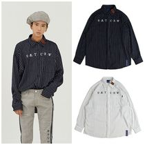 日本未入荷ROMANTIC CROWNのPin Stripe Shirt 全2色
