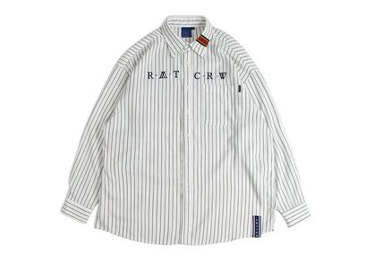 ROMANTIC CROWN シャツ 日本未入荷ROMANTIC CROWNのPin Stripe Shirt 全2色(18)
