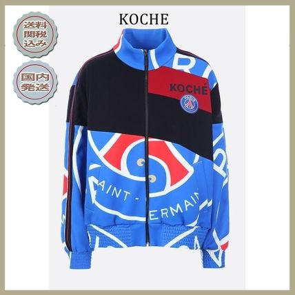 2018-19AW KOCHE PSG bomber jacket in jersey