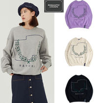 ROMANTIC CROWN★韓国人気ブランド Laurel Crown Sweatshirt
