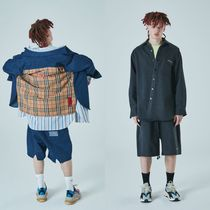 ATTENTIONROW(アテンションロー) シャツ 日本未入荷[ATTENTIONROW] IRREGULAR4. MIX DENIM SHIRTS JKT