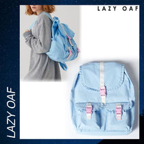 LAZY OAF Frill Seeker Backpack リックサック バッグ ブルー