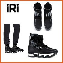 iRi(イリ) スニーカー NYC発!☆IRI NYC☆UNISEX PATENT LEATHER OUTLINE SOCK