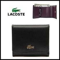 LACOSTE(ラコステ) 折りたたみ財布 ☆LACOSTE☆  MEDIUM TRIFOLD WALLET (NF1226CE-706)