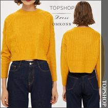 【国内発送・関税込】TOPSHOP★PETITE Ribbed Cropped Jumper