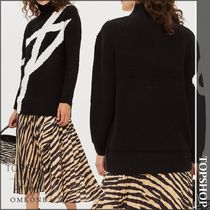 【国内発送・関税込】TOPSHOP★Graphic Monochrome Jumper