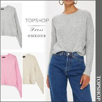 【国内発送・関税込】TOPSHOP★Supersoft Cropped Jumper