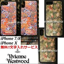 ◆VivienneWestwood◆無料文字入!!iPhone 7/8 & iPhone X ケース