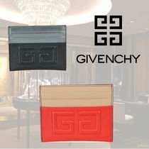 VIP価格【GIVENCHY】2G BICOLOR LEATHER CARDS HOLDER 関税込