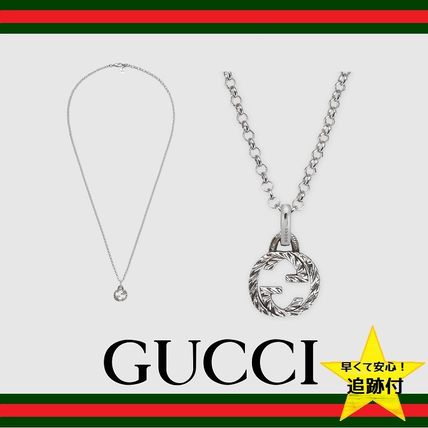 ★追跡有【GUCCI】Interlocking G pendant necklace★