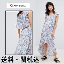 RIP CURL(リップカール) セットアップ Rip Curl Tropic Tribe ビーチ スカート&トップ Co-Ord