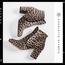 【Charlotte Olympia】Leopard Short Boots