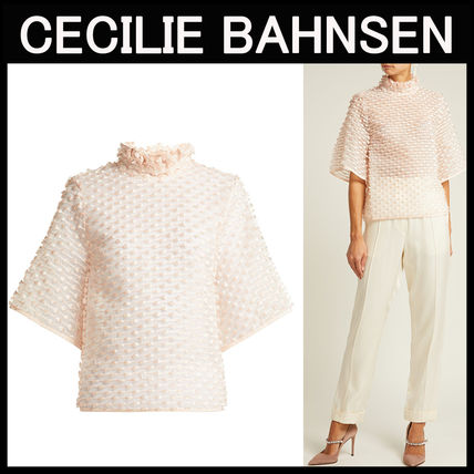 CECILIE BAHNSEN〓Cara シフォントップス