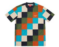 18AW★Supreme Patchwork Pique Tシャツ パッチワーク柄