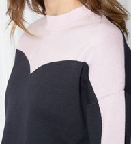 """""""& Other Stories""""Colour Blocking Cotton Sweater Navy"""