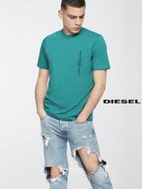 DIESEL ポケット Tシャツ T-JUST-POCKET (water green)