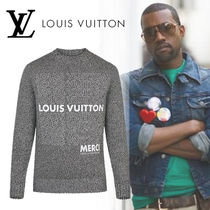 Louis Vuitton(ルイヴィトン)プリントロゴクルーネック