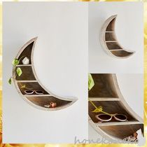 【国内発 Urban Outfitters 送料込】Crescent Moon Wall Shelf
