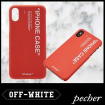 【Off-White】IPHONEのXケース レッド