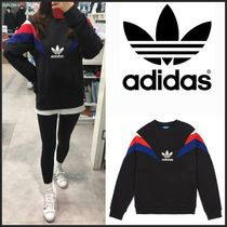 ☆Adidas_Neva Black Crew Neck Sweatshirt☆関税・送料込み☆