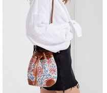 ★Urban Outfitters★ Canvas Crossbody Bucket Bag