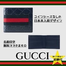 ★追跡有【GUCCI】Gucci Signature Web wallet★日本未入荷