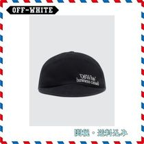 ◆Off-White◆新作 ロゴ入りキャップSnap Back Cap
