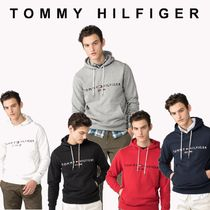 TOMMY HILFIGER ドローストリング ロゴフーディ 国内買付 ギフト