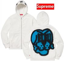 Supreme Bone Zip Up Sweatshirt 18 FW  WEEK 0