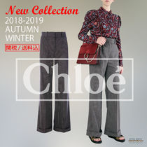 2018-19秋冬SEE BY CHLOE wide-leg pants