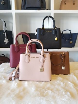 Michael Kors ハンドバッグ 【即発◆3-5日着】Michael Kors◆ADELE MD MESSENGER ◆2ways