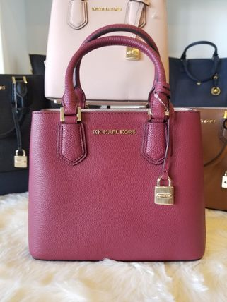 Michael Kors ハンドバッグ 【即発◆3-5日着】Michael Kors◆ADELE MD MESSENGER ◆2ways(17)